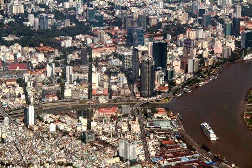 Khu đô thị Thủ Thiêm sẽ là trung tâm mới của TP HCM